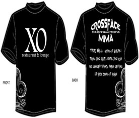 Ace Of Clubs XO Walk out Shirt