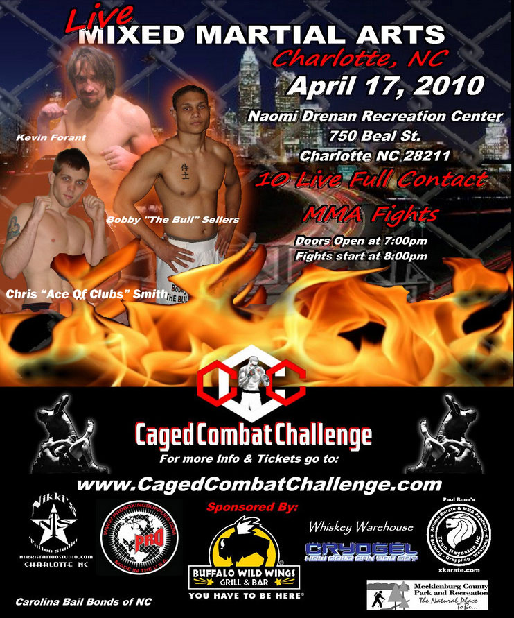 Caged Combat Challenge Poster