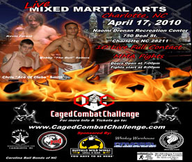 Caged Combat International Poster