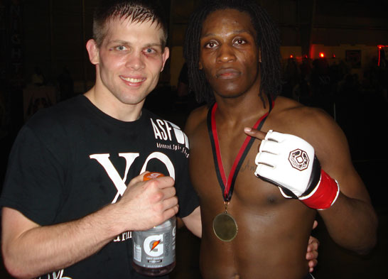 Chris Smith and D'juan Owens Post Fight Elite XII